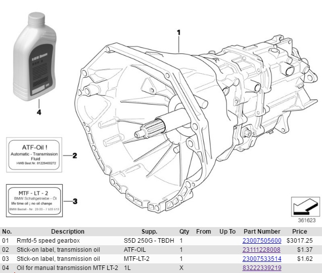 E36 transmission and differential fluid change - Maintenance