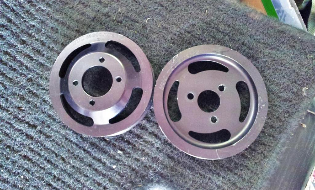Fs Uuc Underdrive Pulleys For E46 For Sale Bimmersport Co Nz