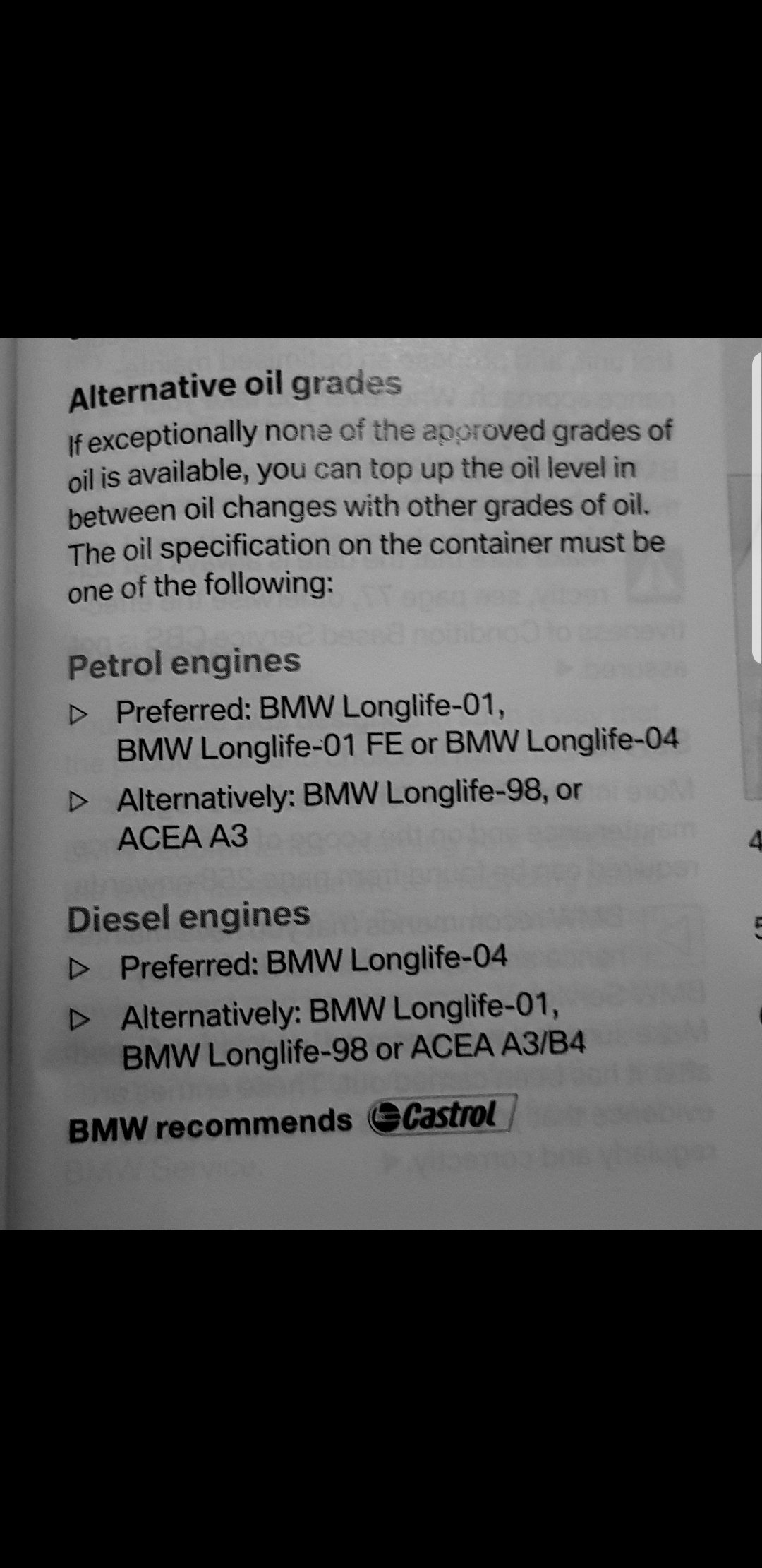 Bmw Recommended Oil >> Recommended Engine Oil For 2009 E90 335i Maintenance
